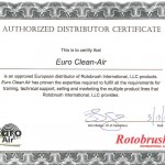 Rotobrush - Certyfikat1
